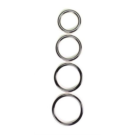 Metal cockring, 8 mm. tyk