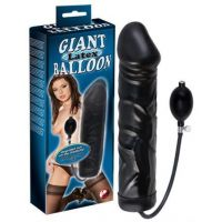 Giant Latex Balloon - Oppustelig dildo