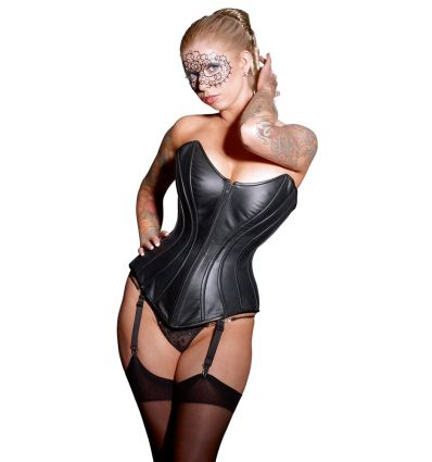 Leather Corset 2XL